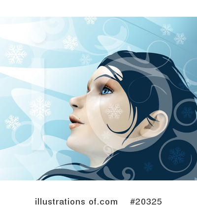 Royalty-Free (RF) Woman Clipart Illustration by Tonis Pan - Stock Sample #20325