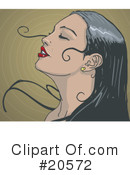 Royalty-Free (RF) Woman Clipart Illustration #20572