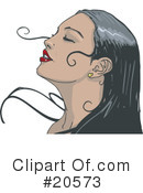 Royalty-Free (RF) Woman Clipart Illustration #20573