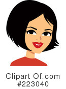 Woman Clipart #223040 by Monica