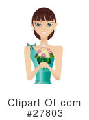 Royalty-Free (RF) Woman Clipart Illustration #27803