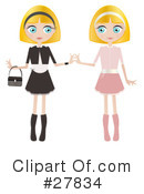 Royalty-Free (RF) Woman Clipart Illustration #27834