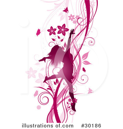 Flowers Clipart #30186 by KJ Pargeter