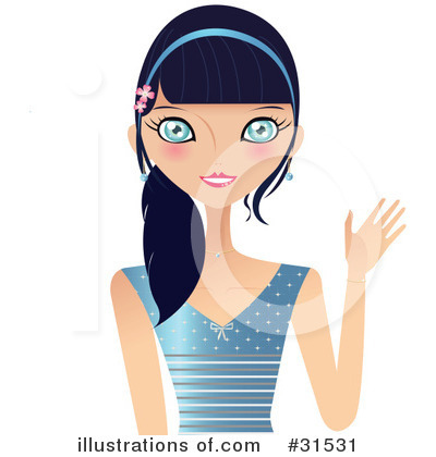 Fashion Clipart #31531 by Melisende Vector