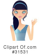Royalty-Free (RF) Woman Clipart Illustration #31531