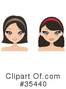 Woman Clipart #35440 by Melisende Vector