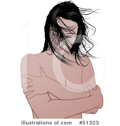 Royalty-Free (RF) Woman Clipart Illustration by dero - Stock Sample #51323