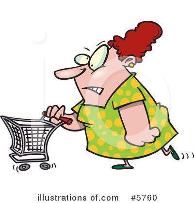 Shopper Clipart #5760 by toonaday