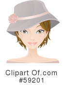Woman Clipart #59201 by Melisende Vector