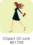 Woman Clipart #61708 by Monica
