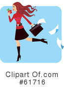 Royalty-Free (RF) Woman Clipart Illustration #61716