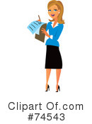 Woman Clipart #74543