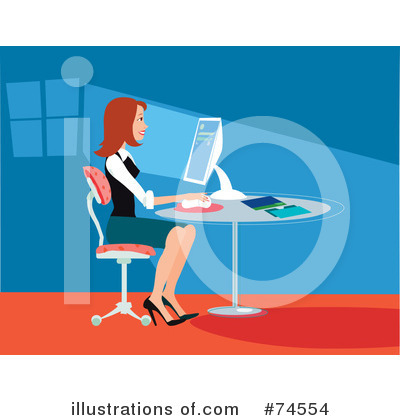 Businesswomen Clipart #74554 by Monica