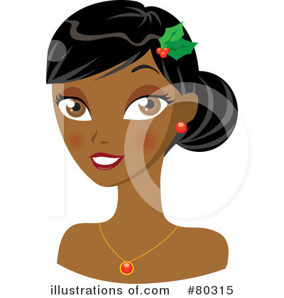 Black Woman Clipart #80315 by Rosie Piter