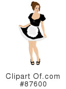 Woman Clipart #87600 by Pams Clipart