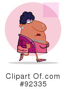 Woman Clipart #92335 by Hit Toon