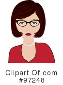Woman Clipart #97248 by Pams Clipart