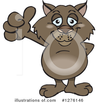 Wombat Clipart #1276146 by Dennis Holmes Designs