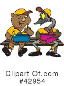 Wombat Clipart #42954 by Dennis Holmes Designs