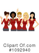 Women Clipart #1092940 by BNP Design Studio