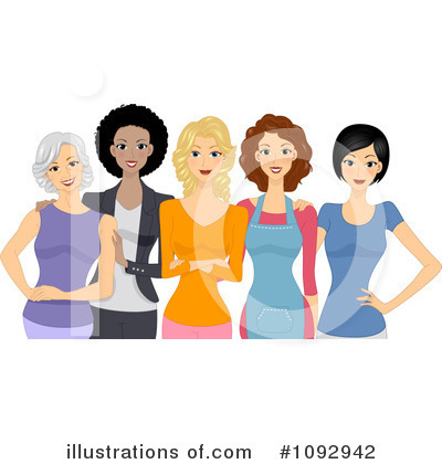 Royalty-Free (RF) Women Clipart Illustration by BNP Design Studio - Stock Sample #1092942