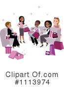Women Clipart #1113974 by Monica
