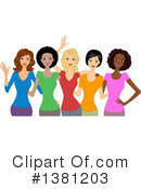 Women Clipart #1381203 by BNP Design Studio