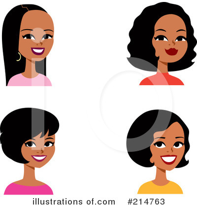 Black Woman Clipart #214763 by Monica