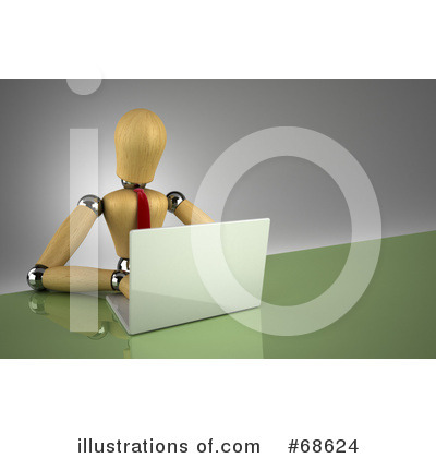 Laptop Clipart #68624 by stockillustrations