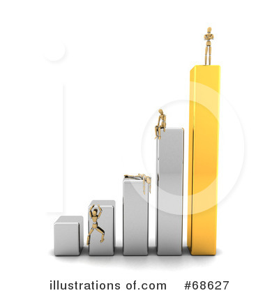 Bar Graph Clipart #68627 by stockillustrations