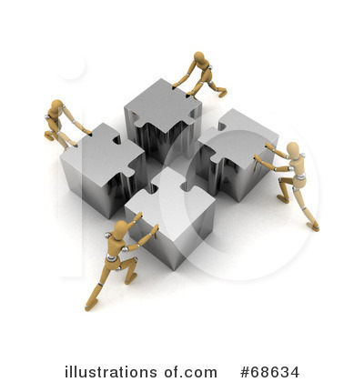 Teamwork Clipart #68634 by stockillustrations