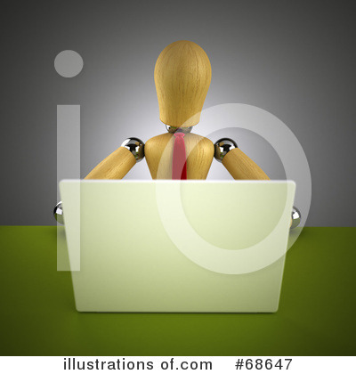 Laptop Clipart #68647 by stockillustrations