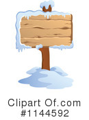 Wood Sign Clipart #1144592 by visekart