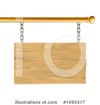 Wooden Sign Clipart #1095317 by AtStockIllustration