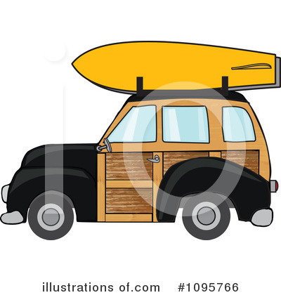 Woodie Clipart #1095766 by djart