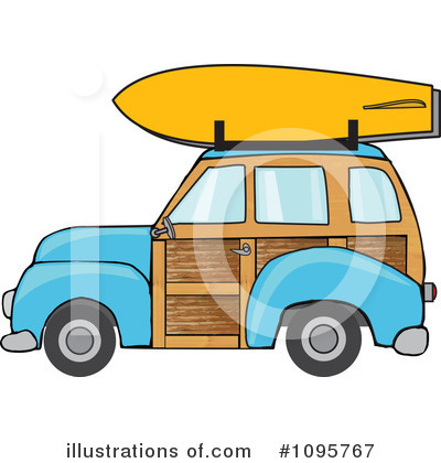 Woodie Clipart #1095767 by djart