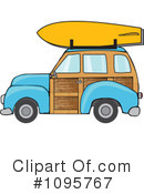 Royalty-Free (RF) Woodie Clipart Illustration #1095767