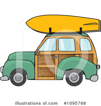 Woodie Clipart #1095768 by djart