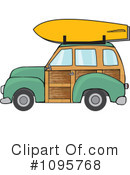 Royalty-Free (RF) Woodie Clipart Illustration #1095768