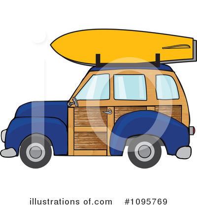Woodie Clipart #1095769 by djart