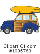 Royalty-Free (RF) Woodie Clipart Illustration #1095769
