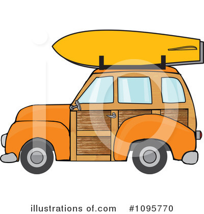 Royalty-Free (RF) Woodie Clipart Illustration by djart - Stock Sample #1095770