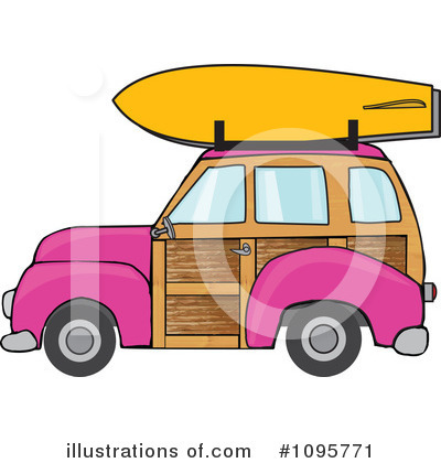 Woodie Clipart #1095771 by djart
