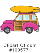 Royalty-Free (RF) Woodie Clipart Illustration #1095771