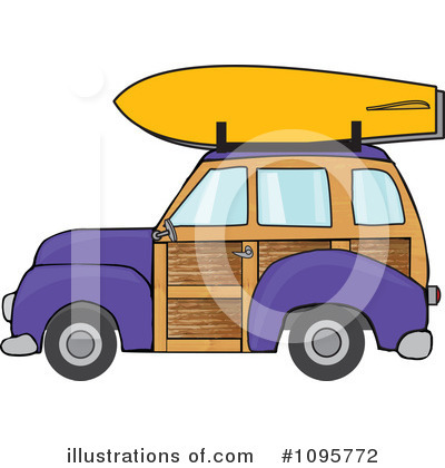 Woodie Clipart #1095772 by djart