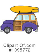 Royalty-Free (RF) Woodie Clipart Illustration #1095772