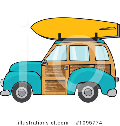 Woodie Clipart #1095774 by djart