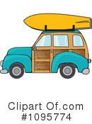 Royalty-Free (RF) Woodie Clipart Illustration #1095774