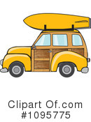 Royalty-Free (RF) Woodie Clipart Illustration #1095775