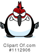 Royalty-Free (RF) Woodpecker Clipart Illustration #1112906